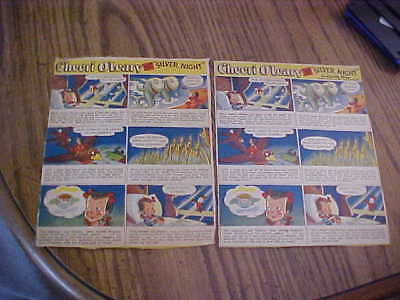1940s CHEERI O'LEARY 2-DIFF #3 Cheerios Cereal Back Panel See All Pictures