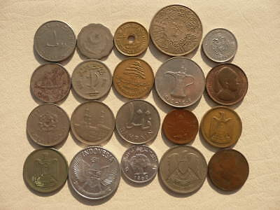 Lot of 20 Middle East Islamic World Coins