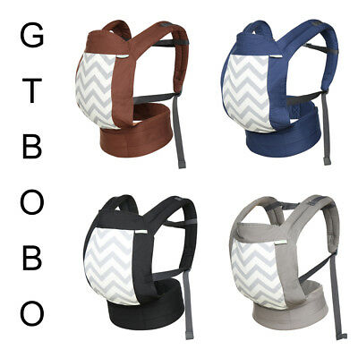 74831fceaac 3 Position Soft Baby Carrier Backpack Adjustable Wrap Sling Straps Simple  To Use