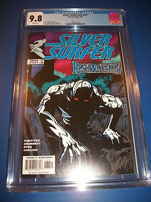 Silver Surfer #137 CGC 9.8 NM/M Gorgeous Gem Resurrection WOW!