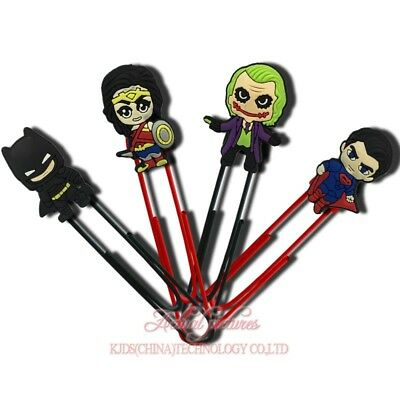 20pcs Batman VS Super Man Paper Clips Bookmarks DIY Office School Clips Binder