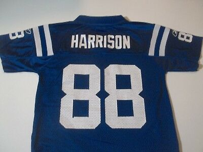 Indianapolis Colts Marvin Harrison #88 Reebok Brand Football Jersey-Youth Sm (8)