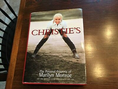Christie's - The Personal Property of Marilyn Monroe - New York - 1999
