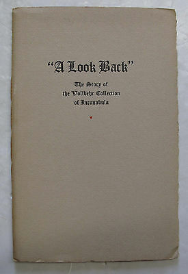 Antique Rare Books Printing A Look Back Vollbehr Collection Incunabula AIGA 1934