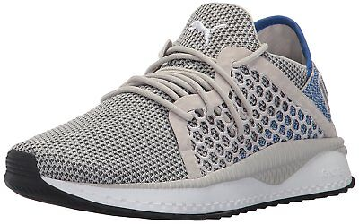 7e6afe16763098 PUMA Men s Tsugi Netfit Athletic Sneaker Size 9.5 Colors Gray Violet-lapis  Blue-