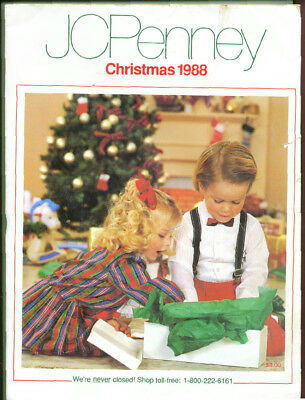 1988 PENNEYS  WISH BOOK FOR  CHRISTMAS 80's CATALOG