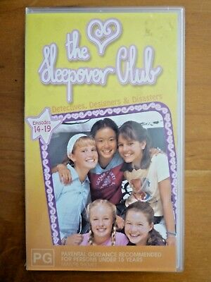 The Sleepover Club Home Video Vhs Pal Episodes 14 19 Village