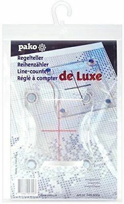 Pako Magnetic Line Counter For Cross Stitch or latch hook c/w magnetic board