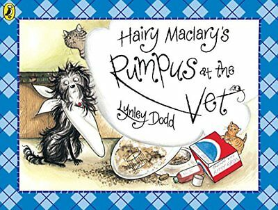 Hairy Maclary Rumpus At the Vet (Hairy Maclary and Friends) New Paperback Book L