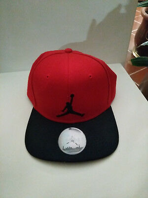 15d5c462ab6 NIKE AIR JORDAN Jumpman Hat Black Gym Red Brand New Cappello - EUR 7 ...