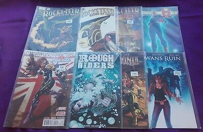 8 Comic Job Lot (Miracleman X 1, Rocketeer X 3, Rowans Ruin X 1, Red Sonja X 1