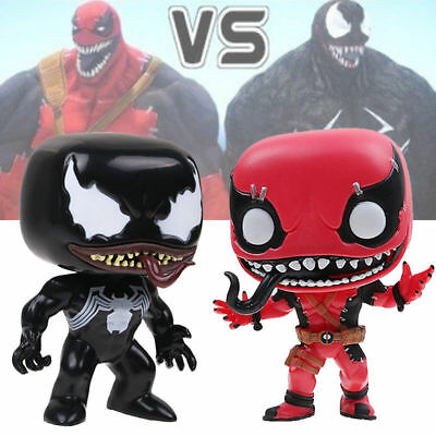 POP Figura Marvel Exclusive #82 Venom & #300 Venompool PVC Action Figure