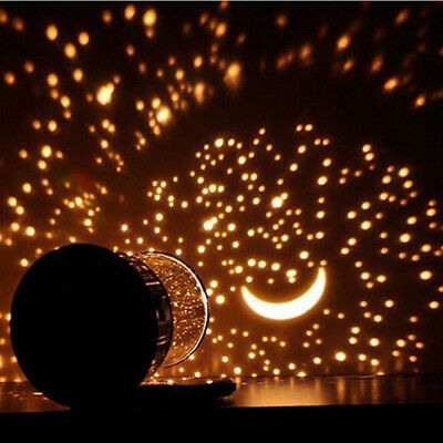 Romantic Star Moon light LED Starry Night Sky Projector Lamp Cosmos Kids Gift