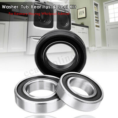 W10435302 For Kenmore Maytag Whirlpool Admiral Washer Tub Bearings & Seal Kit