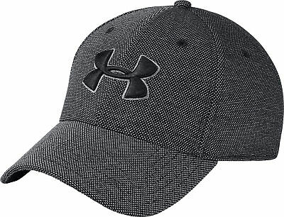 Under Armour Heathered Blitzing 3.0 Training Cap - Black