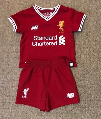 051d902c2c9 Infant Liverpool home football kit size 3-6 months New Balance 2017-2018