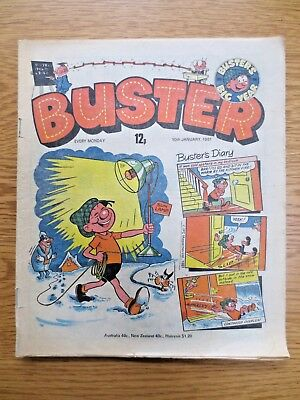 Vintage Buster COMIC 10 January 1981 Birthday Gift