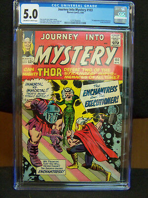 JOURNEY INTO MYSTERY Featuring THE MIGHTY THOR #103 April 1964 CGC Graded 5.0