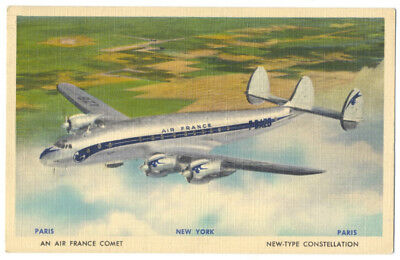 AIRLINE ISSUE POSTCARD-INDEPENDENT Air transport Douglas DC4