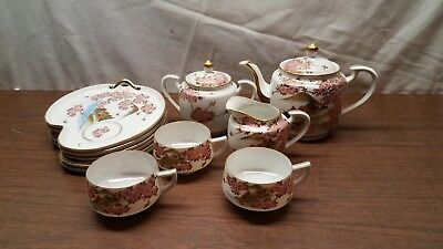 12 Piece Tea Set - Japan