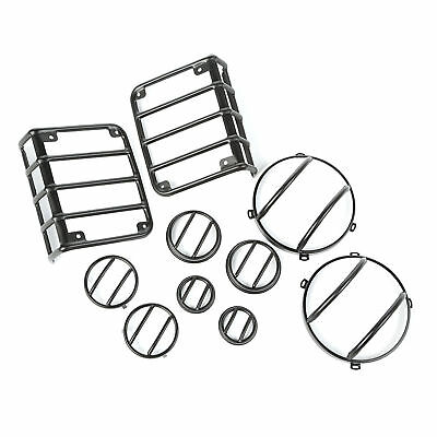 Euro Guard Kit 10-Piece Textured Black 07-17 Jeep Wrangler X 12496.31