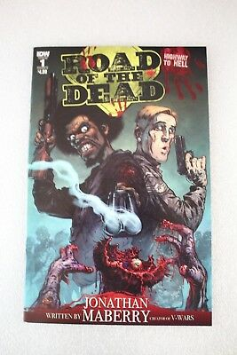Road of the Dead Highway to Hell #1 Cover A 1st First Print