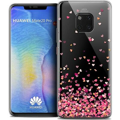"Coque Gel Pour Huawei Mate 20 PRO (6.4"") Souple Sweetie Heart Flakes"