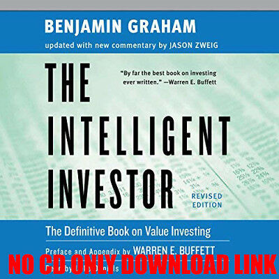 The Intelligent Investor Rev Ed. By Benjamin Graham (Audiobook)