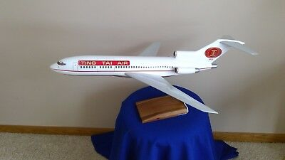 Vtg PACMIN Pacific Miniatures Boeing 727 Model Airplane Ting Tai Air 1:60 Rare