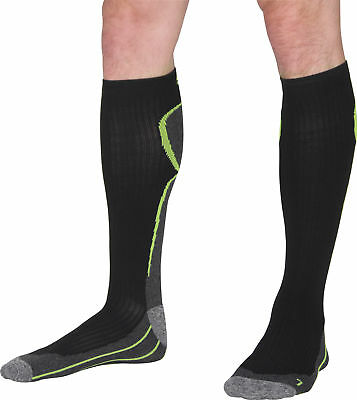 More Mile R2R Cushioned Compression Socks Recovery Calf Sock Mens Womens Running