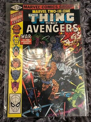 Marvel Comics Marvel Two-In-One 75: VG