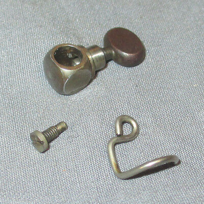 Antique Vintage Singer 27 127 128 Sewing Machine Needle Clamp + Thread Guide