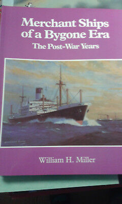 Merchant Ships of a Bygone Era The Post War years  sehr selten Photo-Album