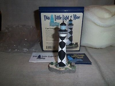 Harbour Lights This Little Light Of Mine Lighthouse Figurine Cape Lookout NC