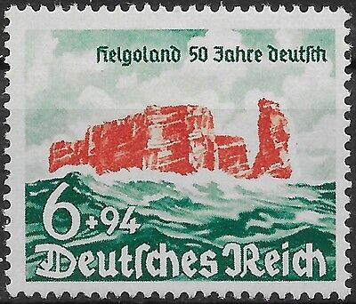 Germany Third Reich Mi# 750  50th Anniv. of Cession of Heligoland 1940 MNH **