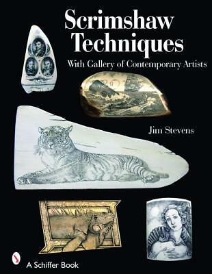 Scrimshaw Techniques Book~With Gallery of Contemporary Artists~harpoon~whaling