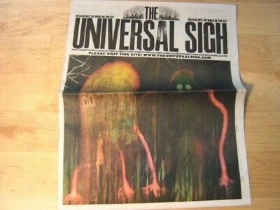 RADIOHEAD Universal Sigh NEWSPAPER King of Limbs Promotion March 29, 2011