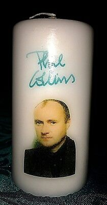 candle phil collins genesis  gift Christmas birthday music icons 80's