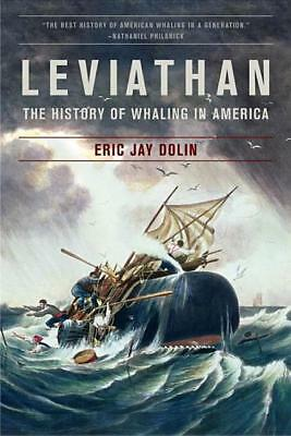 Leviathan: The History of Whaling in America Book~Award-Winner~Harpoon~whale~NEW