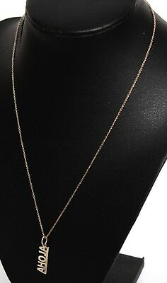 Tiffany & Co T&co Aloha Sterling Silver Ag925 Necklace