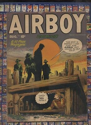 Airboy V5 #7 1951 Golden Age comic ,Heap Horror Story