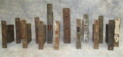 14 Locks Rim Night Latch Dead Bolt Architectural Salvage Door Hardware Mortise r