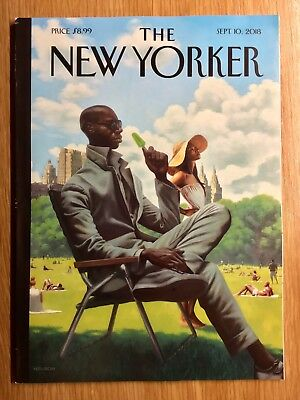 The New Yorker Magazine:  September 10, 2018  -  Mint Condition and Unread