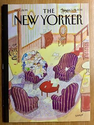 The New Yorker Magazine:  October 15, 2018  -  Mint Condition and Unread