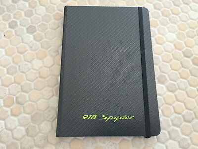 Porsche Official 918 Spyder Journal Blank Pages Book New Unused 2012
