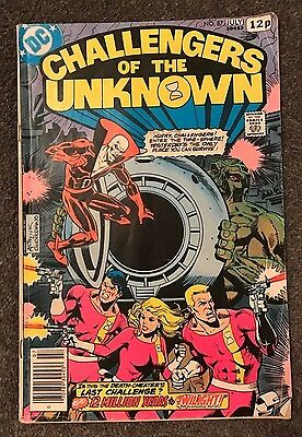 Challengers Of The Unknown # 87 (July 1978) - Dc Comics