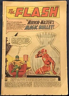 The Flash #119 March 1961  Mirror Master  Coverless