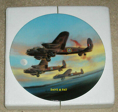 Royal Worcester Dambusters Collectors Plate The Take Off Certificate New & Boxed