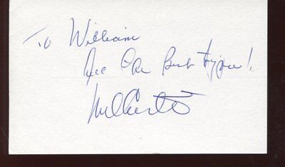hold me thrill me kiss me Mel Carter signed autograph NO RESERVE B6333