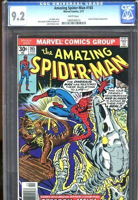 Amazing Spider-Man #165 (1977) No. 165 Cgc 9.2 White Pages Marvel Comics 1977